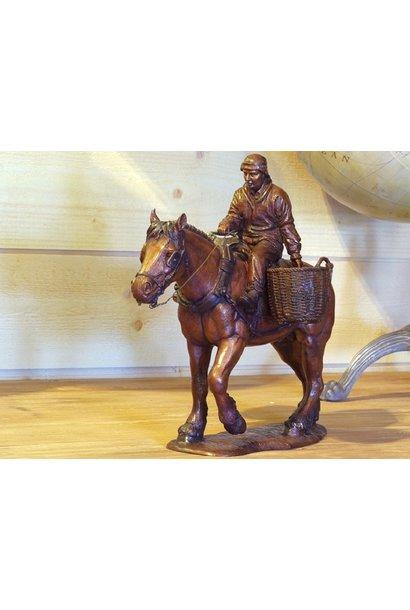 Garnelenangler zu Pferd