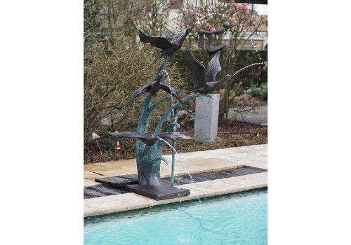 BronzArtes 4 Eenden fontein