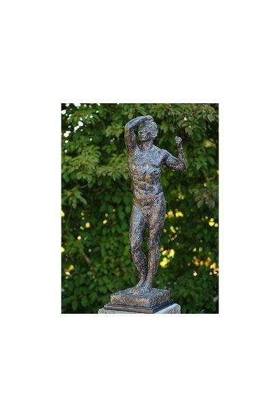 Naked man by Rodin