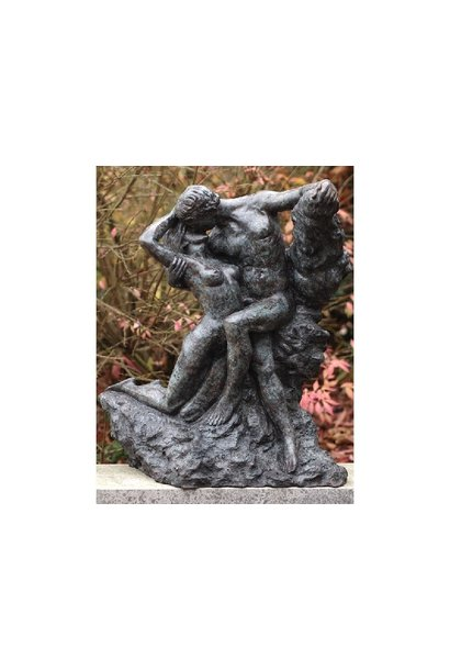 The kiss of Rodin