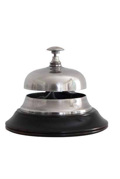 Sailor's Inn Desk Bell, Silver