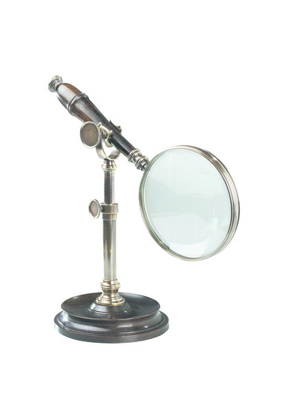 Magnifying Glass With Stand, Brnzd