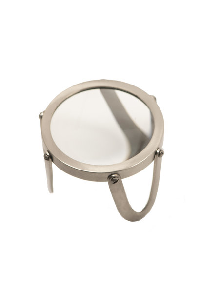"Desk Magnifier 3"", Pewter"