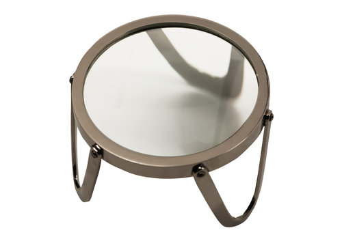 """Authentic Models Desk Magnifier 5"""", Brass"""