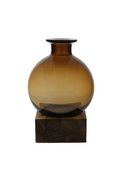 Smoky Amber - Vase