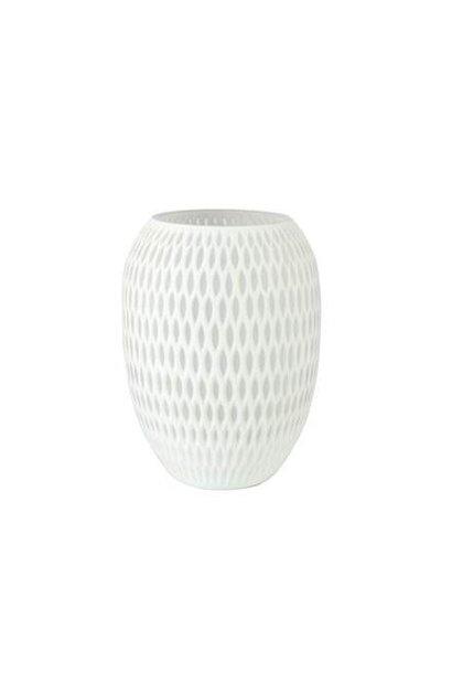 Vase grosse¸ Weiss¸