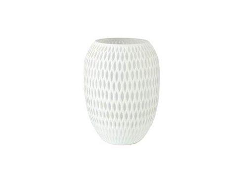 Accessoires Vase groß weiß