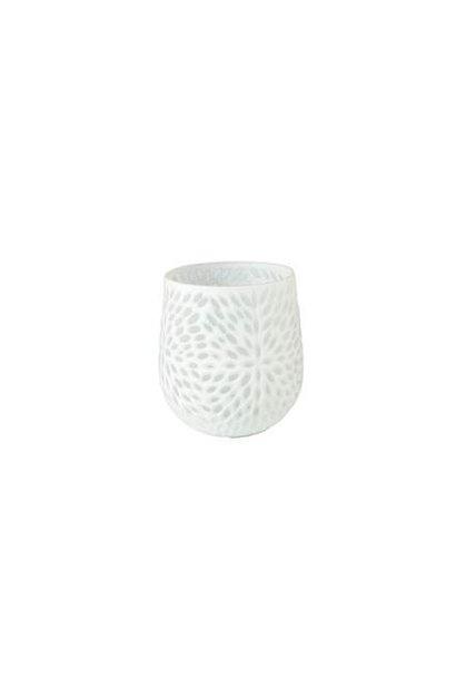 Vase mini Weiss¸