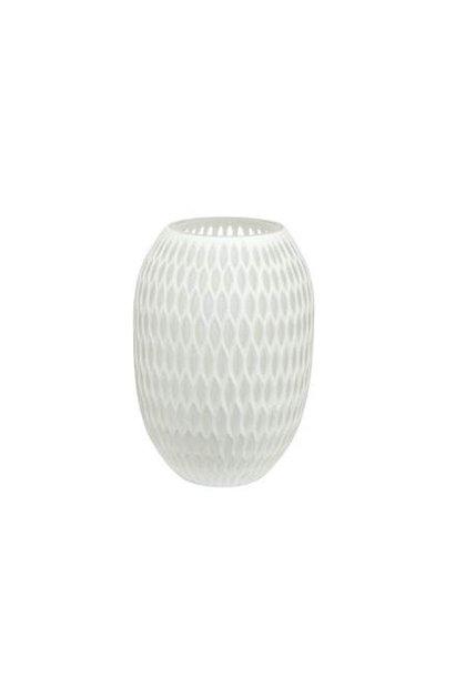 Vase medium white