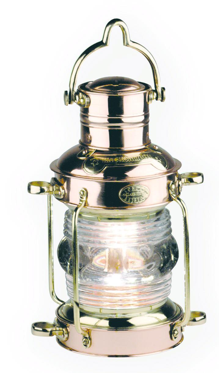 Anchor Lamp, Brass & Copper-1