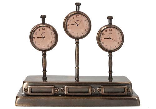 Authentic Models World Clock Madison 9 x 6 x 15 cm