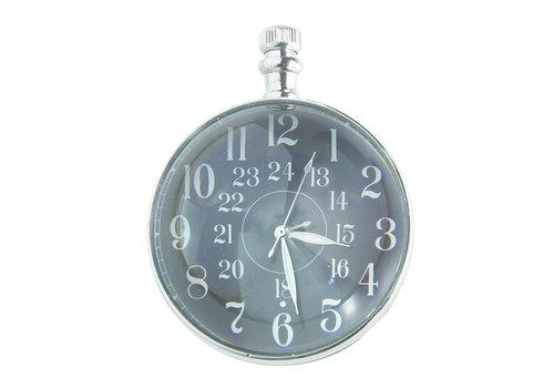Exclusive Models Eye of Time Clock, Nickel 7,1 cm