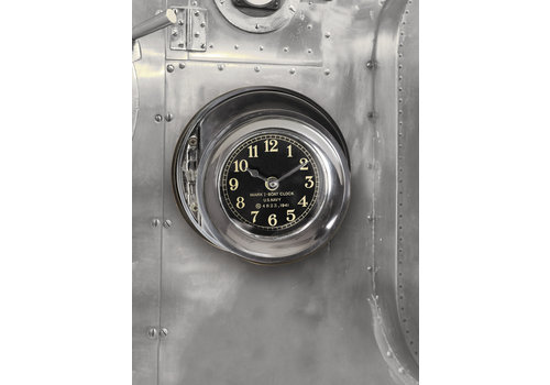 Exclusive Models Navy Clock