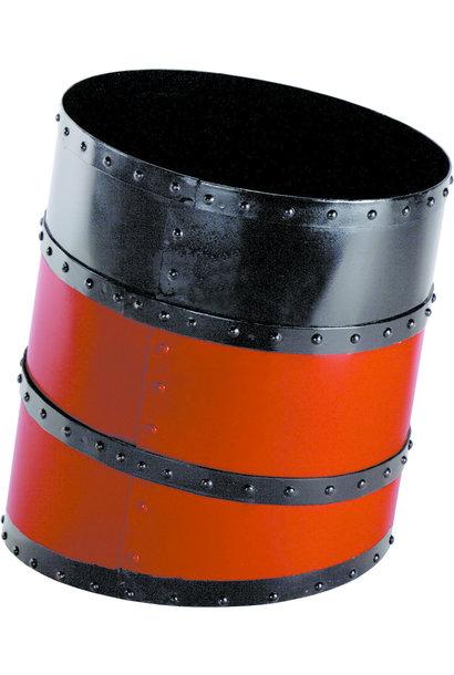 Funnel Waste Basket, Red