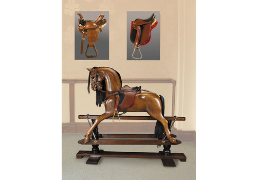 Exclusive Models Victorian Rocking Horse