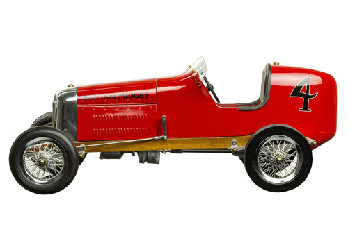 Exclusive Models Bantam Midget, Red