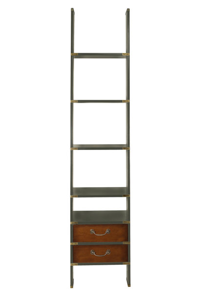 Library Ladder, Gunmetal Grey*