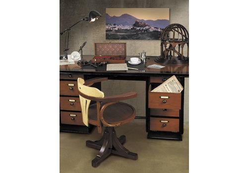Exclusive Models Captain's Desk, Black