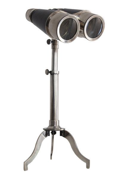 Victorian Binoculars w/ Tripod, Slvr