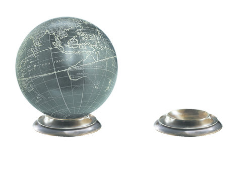 Exclusive Models Globe Base, Bronze