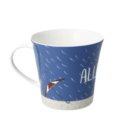 A Quality Goebel Product:  Allwettertasse - Coffee-/Tea Mug-5