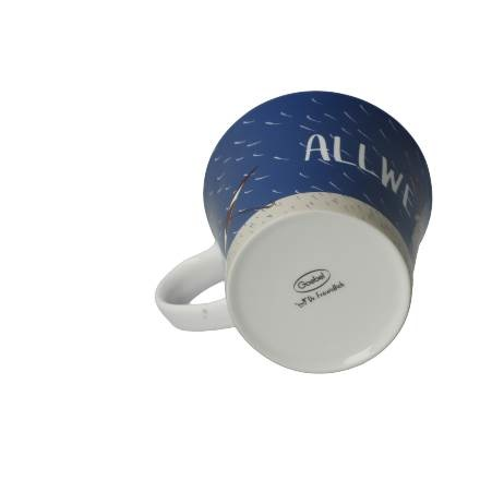 A Quality Goebel Product:  Allwettertasse - Coffee-/Tea Mug-8