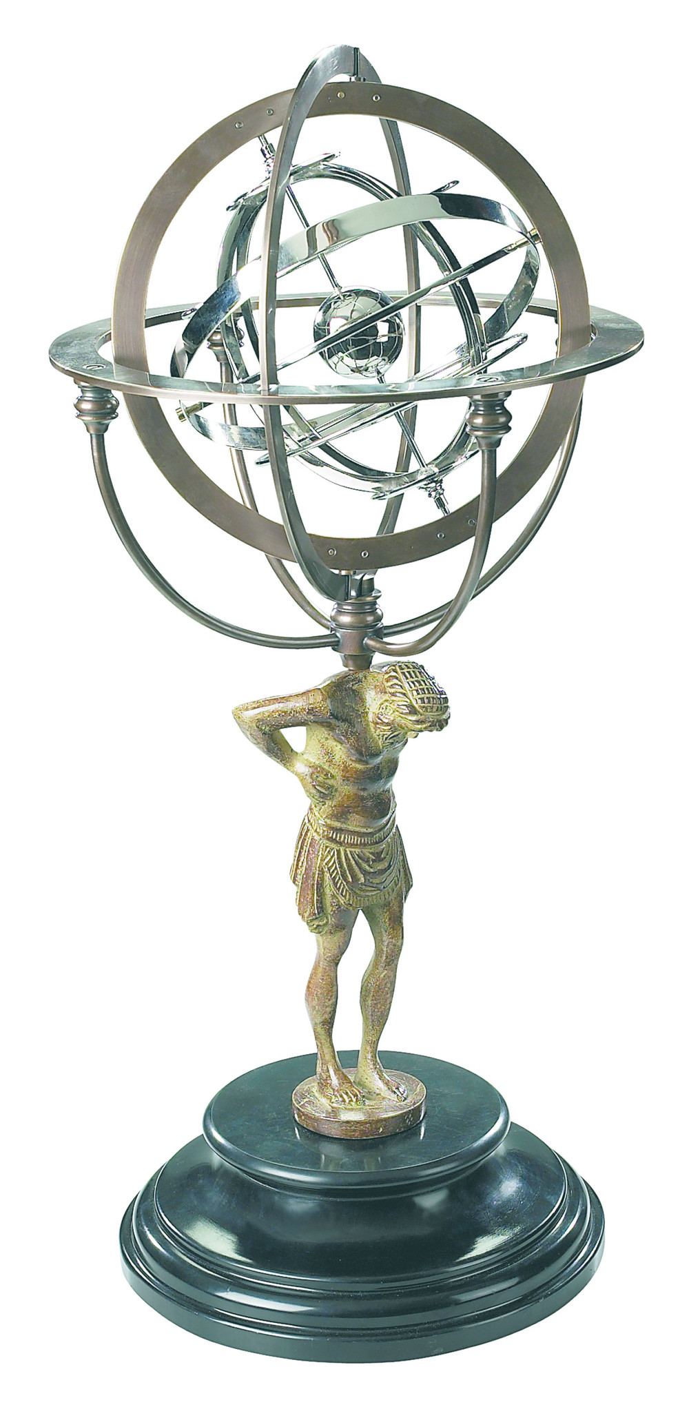 18th C. Atlas Armillary-3