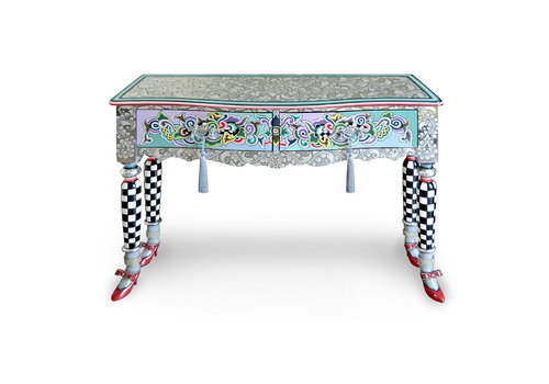 """Tom' s Company Console """"Versailles"""", Silver Line"""