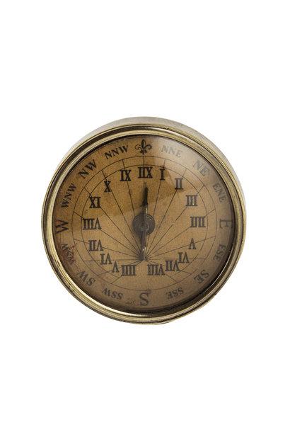 18th C. Compass-Sundial, small
