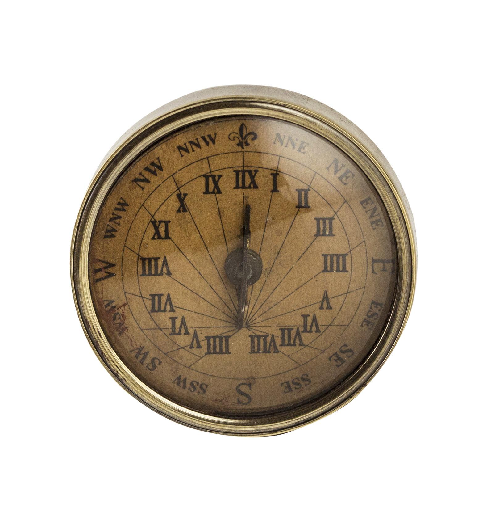18th C. Compass-Sundial, small-1