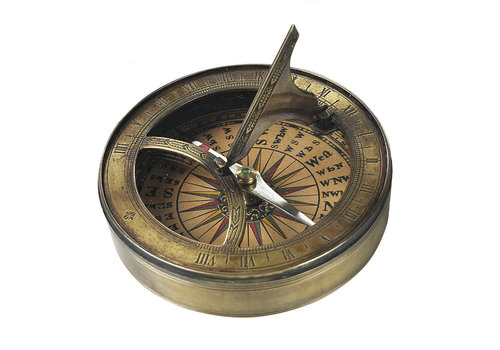 Exclusive Models 18th C. Sundial & Compass