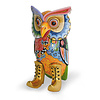 Tom' s Company Colourful, funny, cheerful, in all colours of the rainbow:  H 98 cm, 30x30 cm, FiberGlass with a layer of marbleine