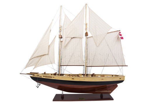 Exclusive Models Bluenose II Painted