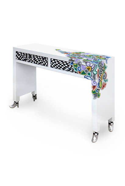 Console table, Silver Line