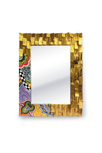 Mirror gold-plated (M)