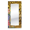 Tom' s Company Colourful, funny, cheerful, in all colours of the rainbow:  Mirror, gold-plated L