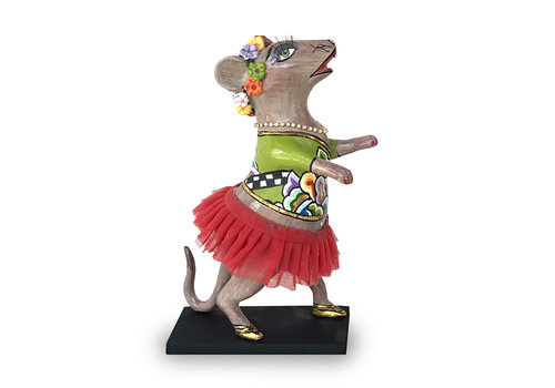 """Tom' s Company Dancing mouse """"Lissy"""", red tutu"""