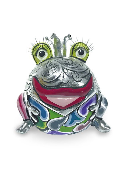 Frog King Marvin silver