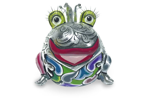 """Tom' s Company Frog King """"Marvin"""" silver"""