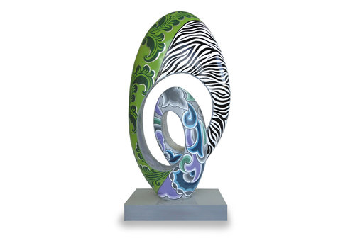 "Tom' s Company Sculptuur ""Eternity"", Silver Line"