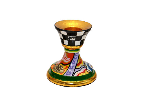 "Tom' s Company Candlestick S, ""colourful"""