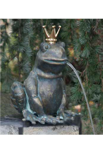 Frog King Ratomir  Fountain