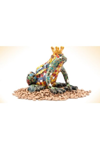Frog with Crown 2 Sizes