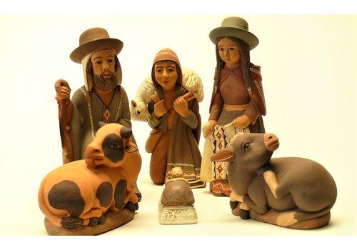 Angels & Co  Nativity Set