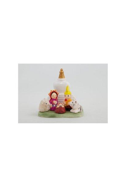 Nativity scene Nepal