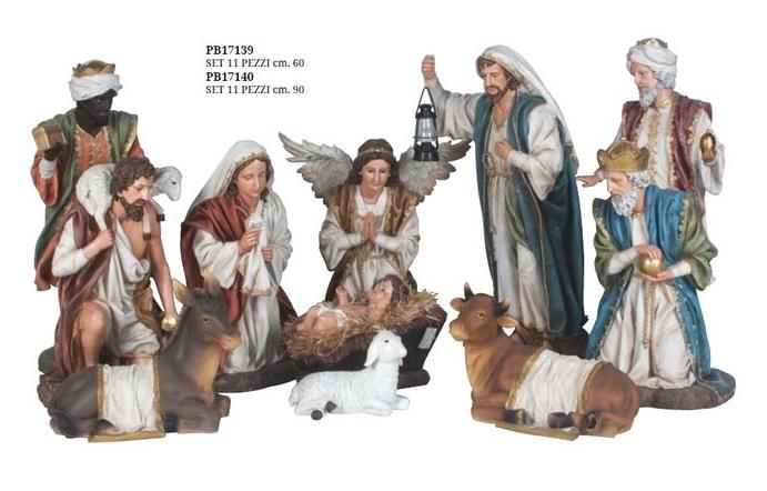 Kerststallen: Klassieke Grote Kerststal. 60 en 90 cm.-2
