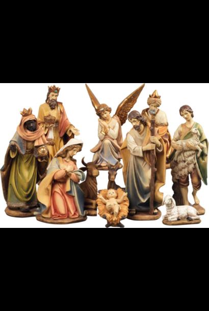 Klassieke Grote Kerststal