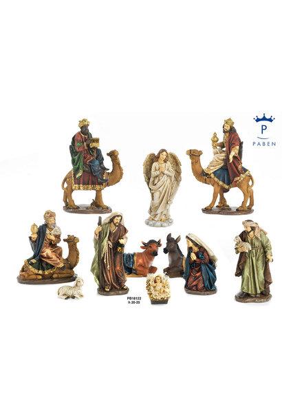 Nativity scene 11 pieces