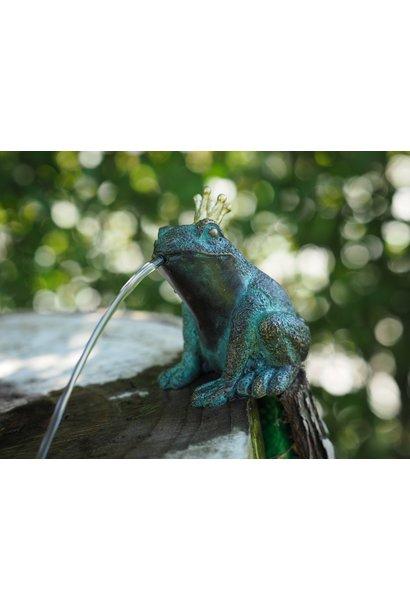 Froschkönig aus Bronze