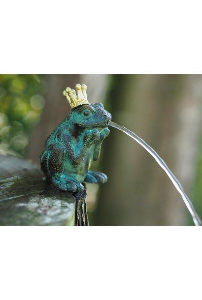Bronze frog king